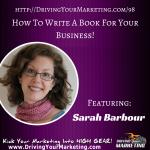DYM - Episode 098 - Sarah Barbour